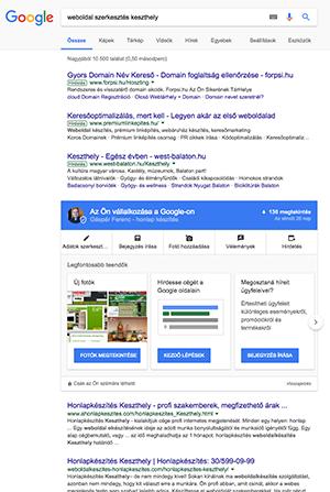 5703d0d154 Google keresőoptimalizálás, helyezésjavítás